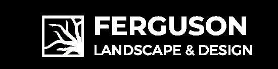 Ferguson Landscape & Design logo with a transparent background.