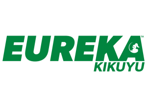 The logo for Eureka Kikuyu grass.