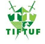 The logo for Tiftuf Bermuda, a durable grass.